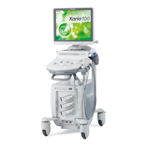Xario 100 ultrasound sold by NXC Imaging